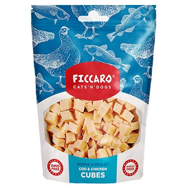 Cod and chicken cubes - Ficcaro